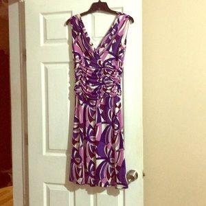 Ladies multi colored dress